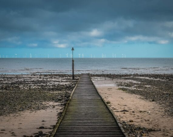 Jetty out to sea